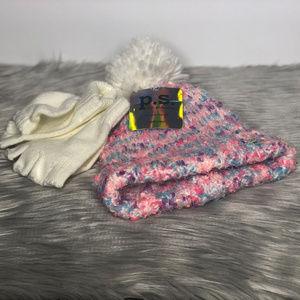 p.s. Aeropostale Kids Hat & Glove Set